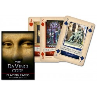 Kolekcjonerskie karty do gry Piatnik Kod Da Vinci poker, brydż