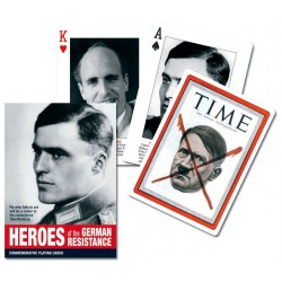 Kolekcjonerskie karty do gry Piatnik Bohaterowie niemieckiego oporu