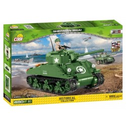 Klocki Historical Collection Sherman M4A1