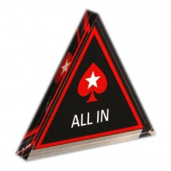 Akrylowy Button Przycisk Allin PokerStars All In Poker