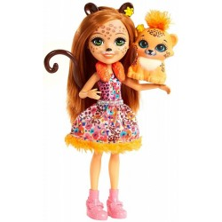 Lalka Enchantimals Cherish Cheetah