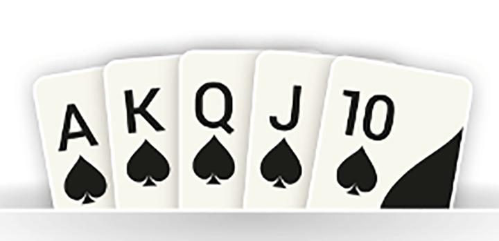 poker królewski royal flush